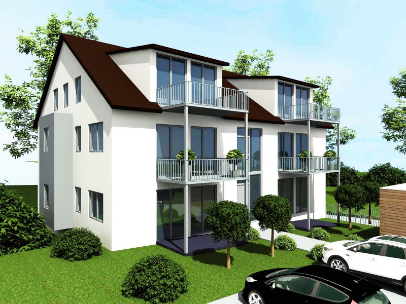 haus mit balkon. Black Bedroom Furniture Sets. Home Design Ideas